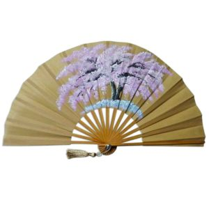 Hand Painted Fan 10 Inches 11