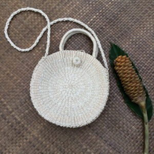 Lotus Bag White