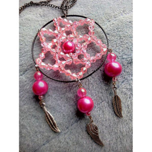 Necklace Metallic Colorful