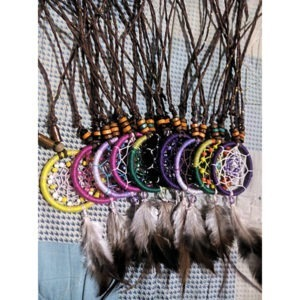 Necklace Colorful (Single-feather)