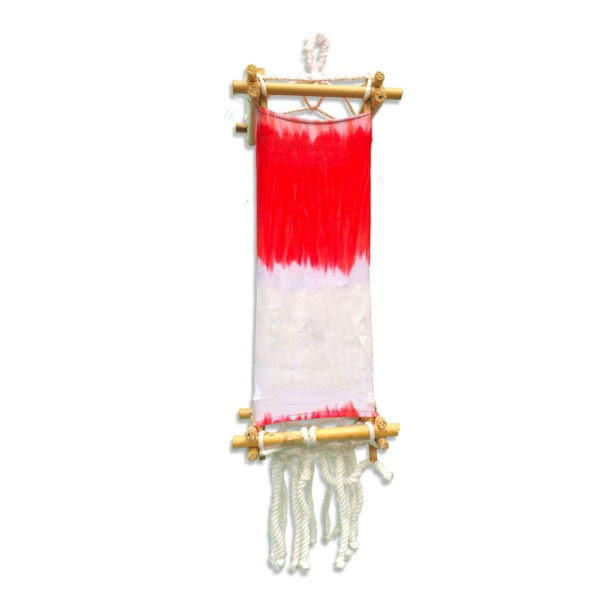 Acid Wash White and Red Boracay Lantern