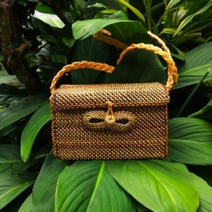 Sling Bag Rectangle Abaca Bag