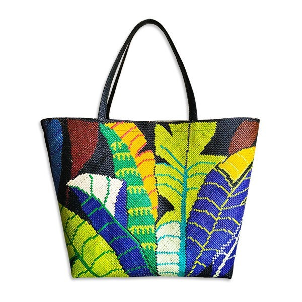 Leaves Abaca Bag