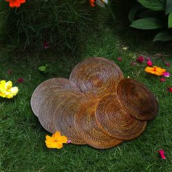 Wicker Plate Abaca