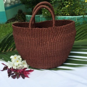 Primera Abaca Bag Mahogany Brown